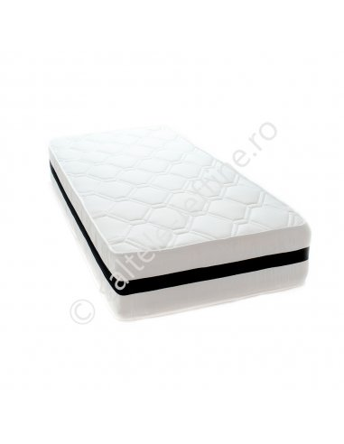 Saltea Memory Foam (2 Fete, miez de spuma) 80x200 cm (grosime 30 cm)